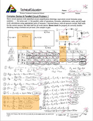 Sample Complex cct calculation