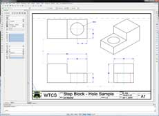 2D Step Block sample